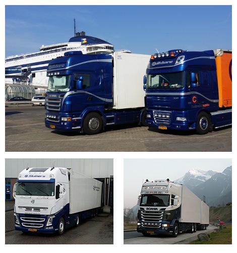 Internationaal koeltransport - Gebr. Sluimers Transport